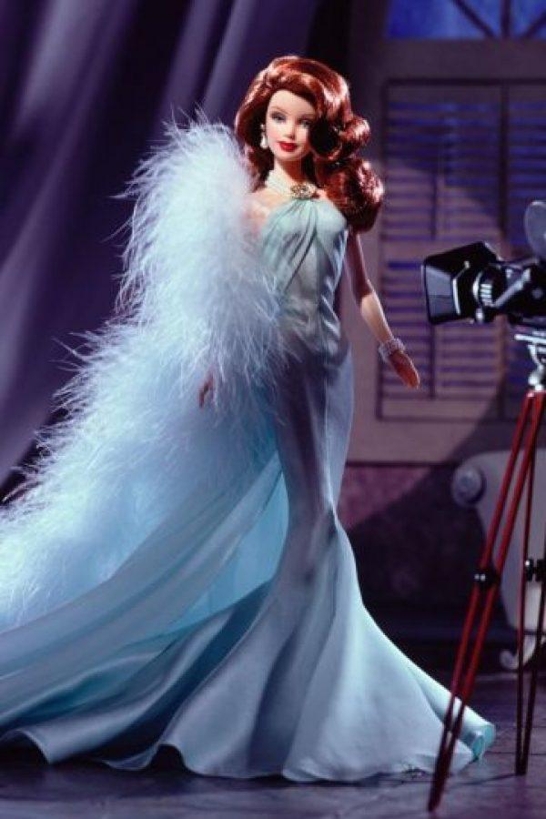 La Barbie inspirada en Rita Hayworth. Foto:Mattel
