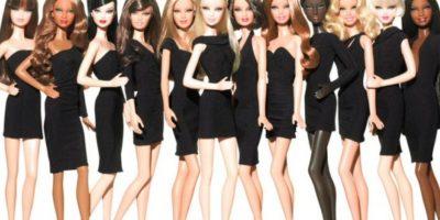 "Las Barbies ""Fashion"" que salieron en 2012. Foto:Mattel"