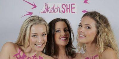 Shae-Lee (en el centro) tiene 28 años Foto:Vía Facebook/sketchshe