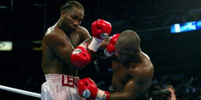 Mike Tyson vs. Lennox Lewis Foto: Getty