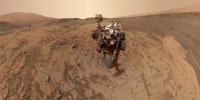 Curiosity en Marte Foto:AFP Photos