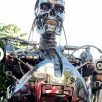 """""""Terminator"""" en la alfombra roja. Foto:Getty Images"""