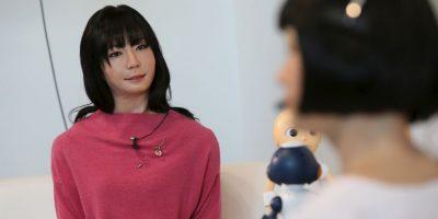 Los androides, como anfitriones, son un tendencia muy marcada en Japón. Foto:AFP Photos
