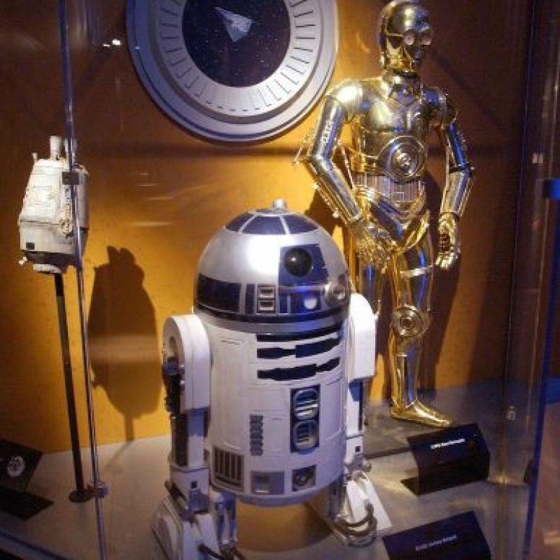 C3PO y R2D2, éstos dos no necesitan presentación. Foto:Getty Images