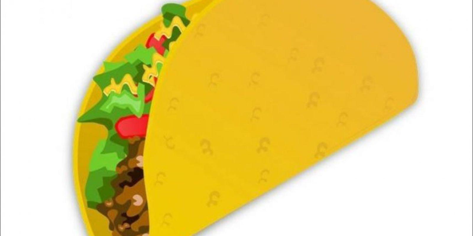 Lo mismo se buscaba con el taco mexicano. Foto:Twitter