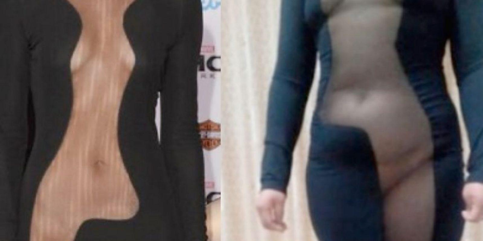 Así luce Jaime Alexander y la mujer china que intentó copiar su look Foto:Taobao