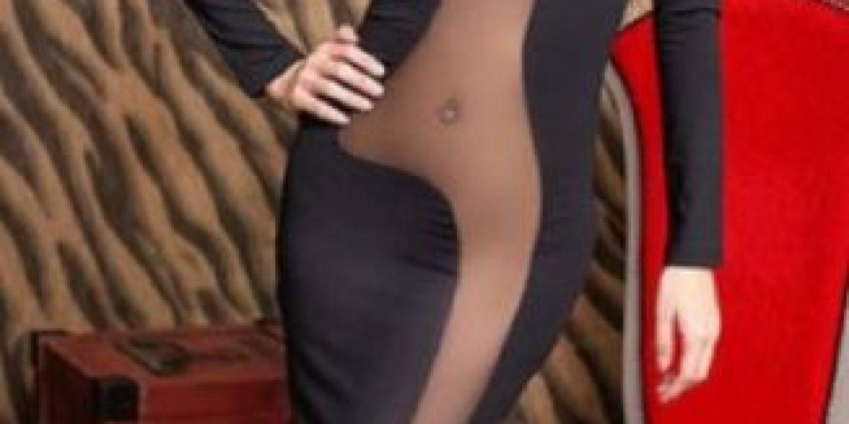 Mujer copia el vestido de actriz de Hollywood y el resultado fue desastroso