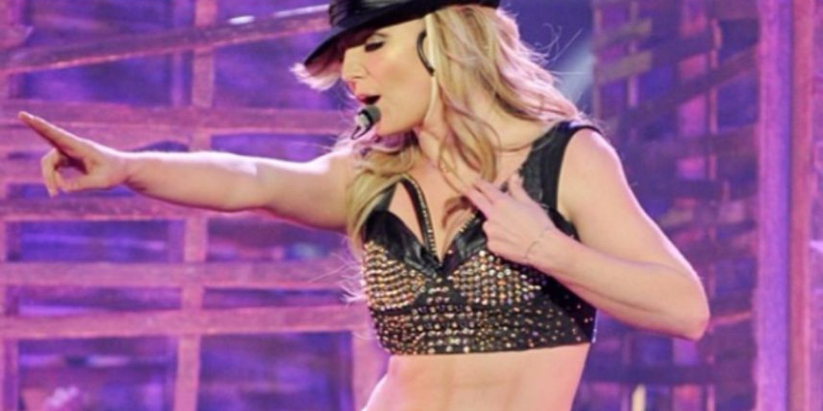 """Britney mostró un abdomen """"envidiable"""" Foto:Instagram"""