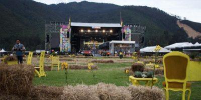 Así se ve a esta hora el escenario principal del Estéreo Picnic. Foto:Juan Pablo Pino- Publimetro