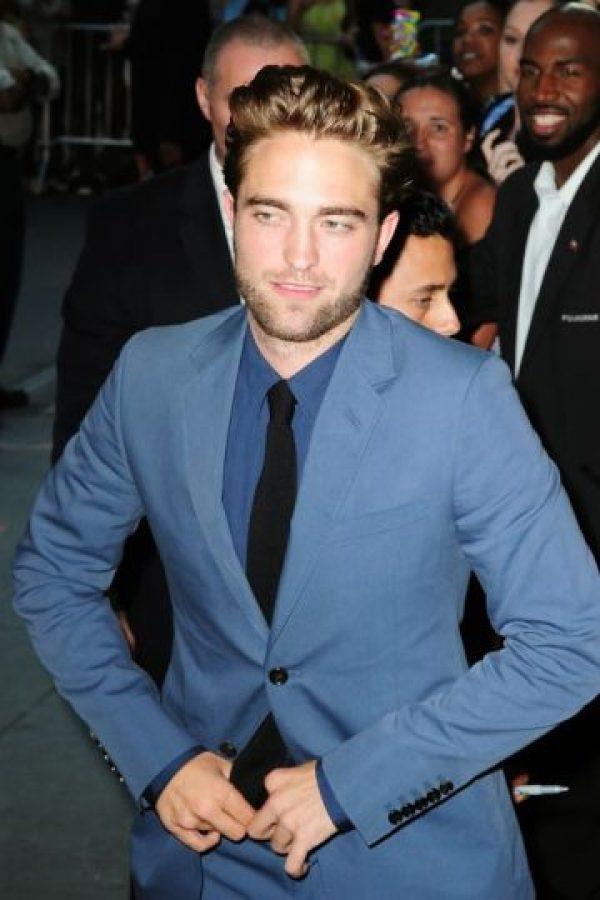 Sobre todo cuando interpretó a Edward Cullen Foto:Getty Images