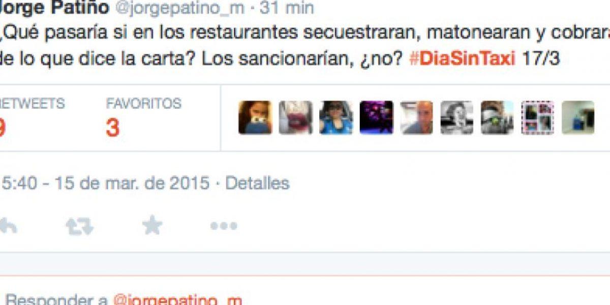 Taxistas cancelan paro, pero usuarios siguen firmes en #Diasintaxi