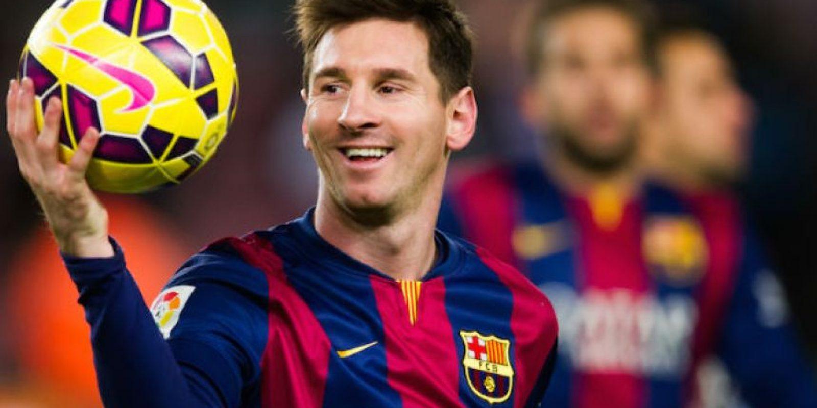 Lionel Messi tuvo un desafortunado incidente este viernes. Foto:Getty Images