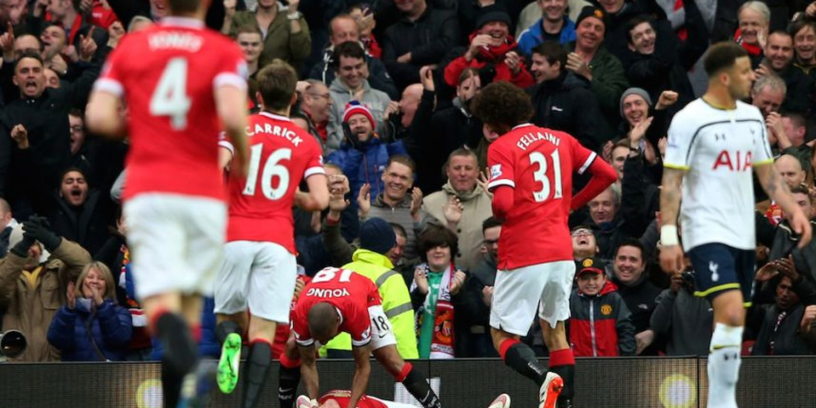 Así terminó Wayne Rooney. Foto:Getty Images