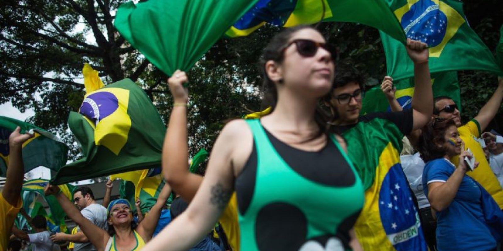 Los ciudadanos brasileños rechazan al gobierno. Foto:Getty Images