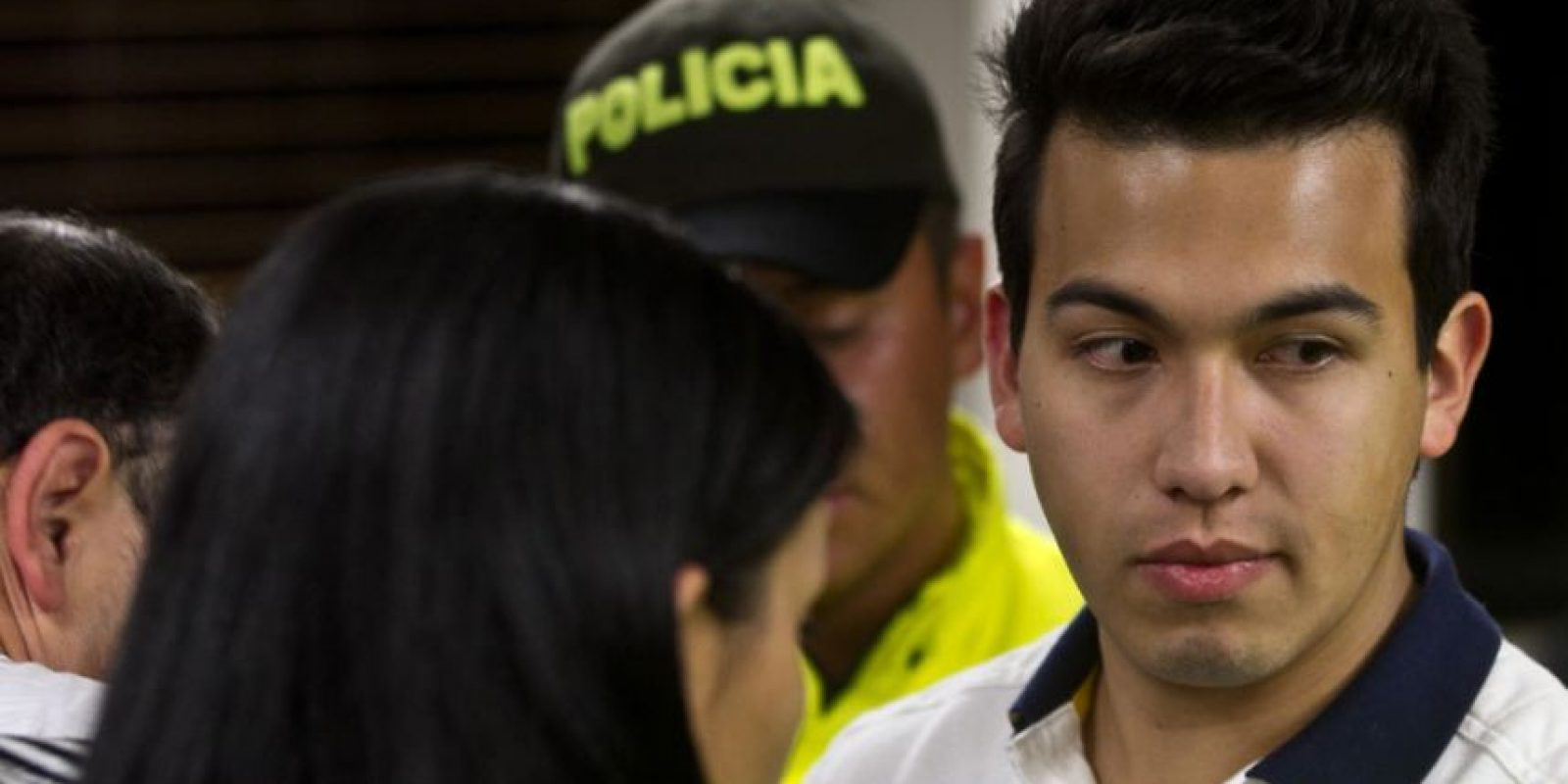 Carlos Cardenas es otro de los protagonistas de la novela Colmenares. El joven fue acusado de ser el autor material del asesinato de Luis Andrés, pero por falta de pruebas fue dejado en libertad. Foto:Captura de pantalla