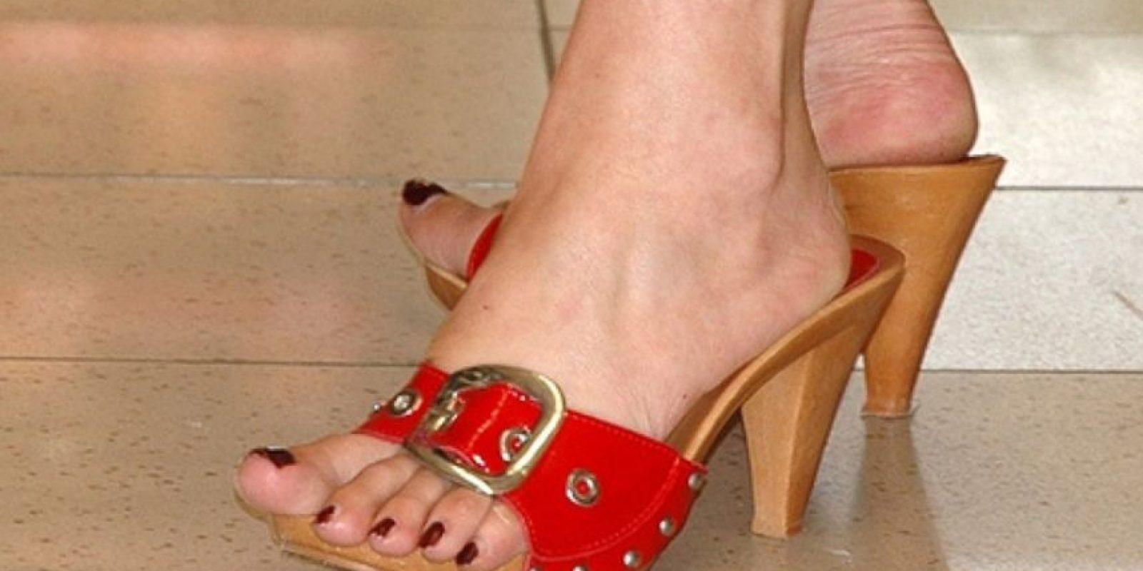 Talones secos y dedos libres… No es la mejor combinación Foto:Tumblr.com/Tagged-zapatos-wtf