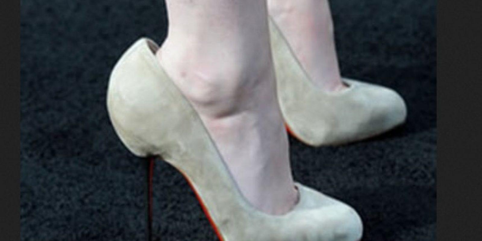 Cuando los zapatos te quedan muy grandes… Foto:Pinterest