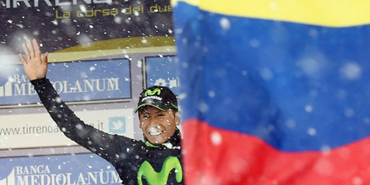 ¡Gigante! Nairo le dio a Colombia su primer título de 2015