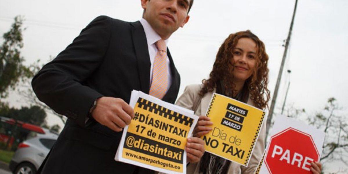 Avanza el 'Día sin taxi' En Bogotá