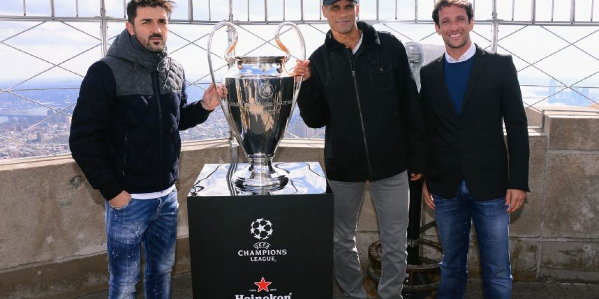 FOTOS: Nueva York recibió el Tour del trofeo de la Champions League