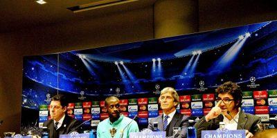 La comitiva del Manchester City. Foto:Ramón Mompió