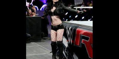 Mira las mejores imágenes de Paige en acción Foto:WWE