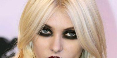 Taylor Momsen, tú no eras así. Con esa cara habrías asustado al mismo Grinch. Foto:Getty Images