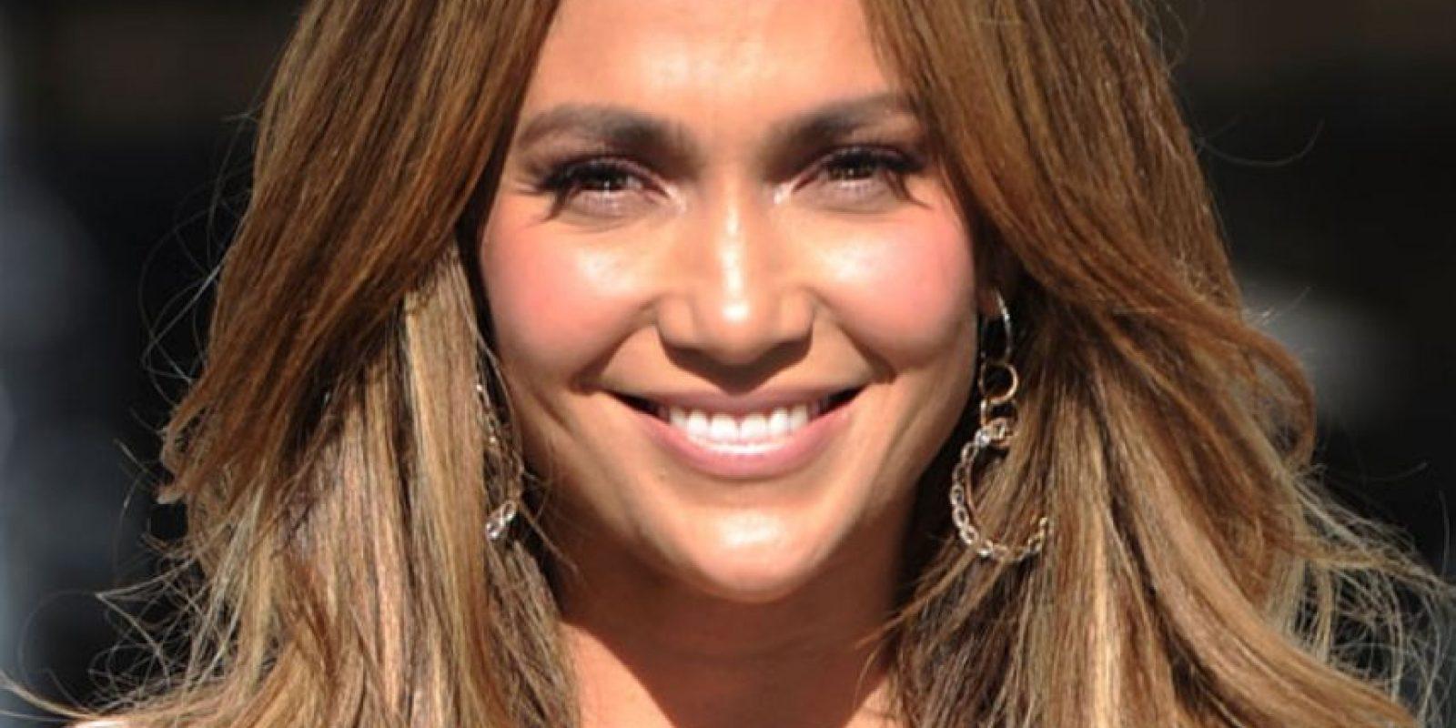 J Lo, más roja que un ebrio en San Patricio. Foto:Getty Images