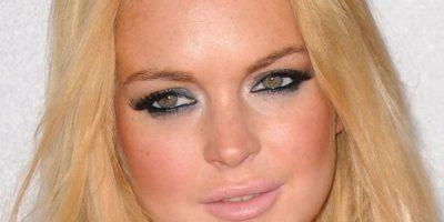 Lindsay, no. Simplemente, no. Mucho polvo bronceador. Foto:Getty Images
