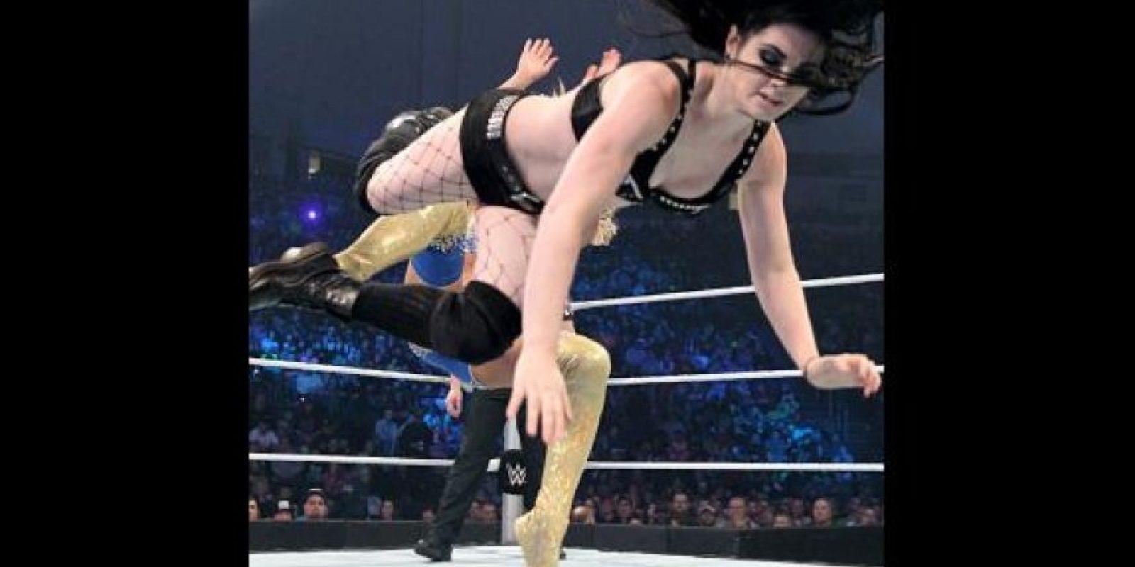 Ha sido campeona de las Divas en dos ocasiones Foto:WWE