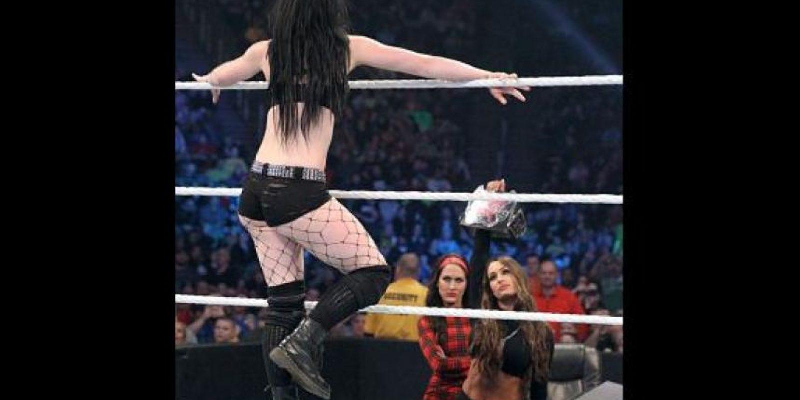 Es una de las luchadoras con más crecimiento de la empresa Foto:WWE