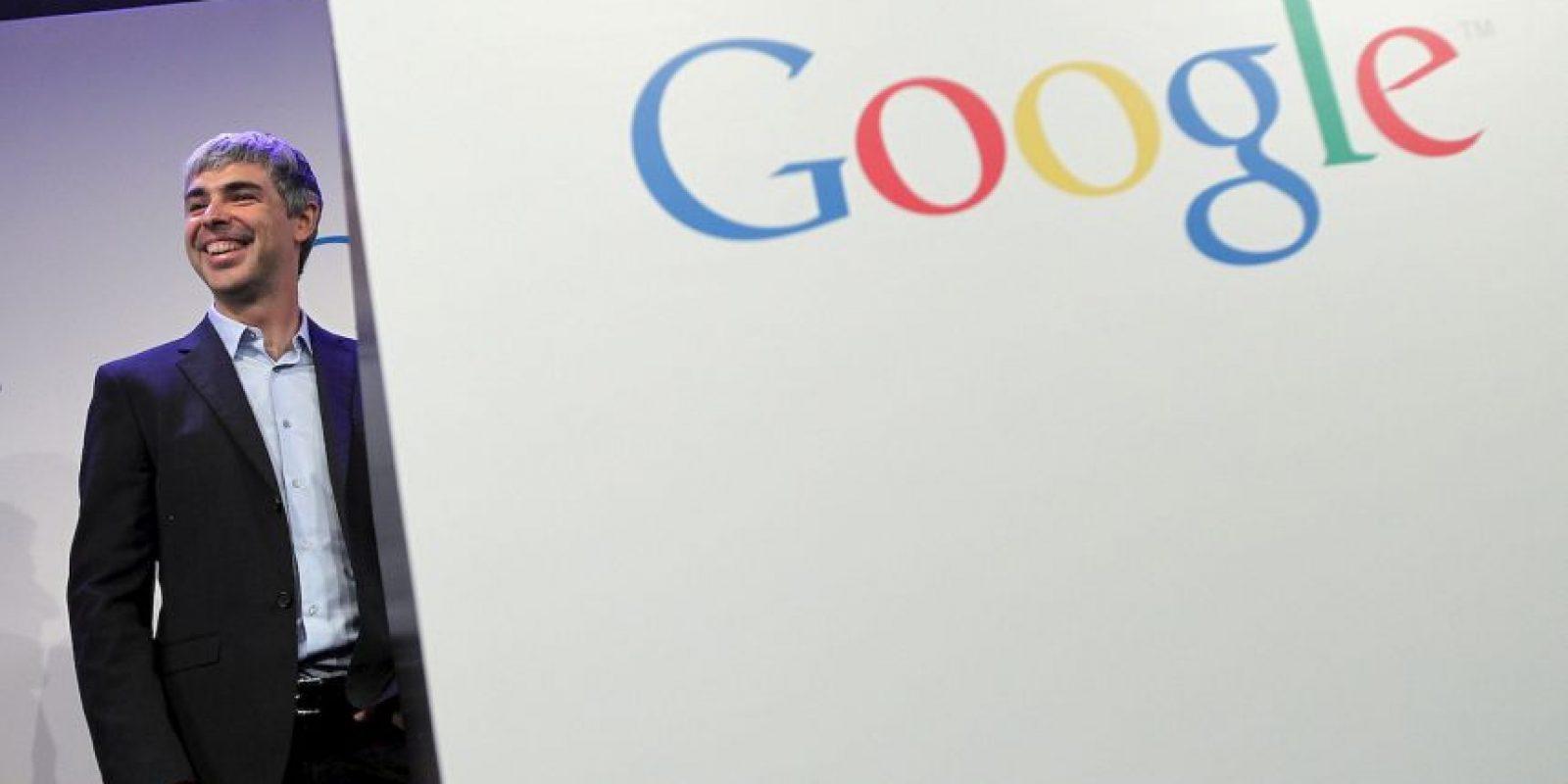 El gigante Google no podía quedar fuera. Larry Page, uno de los fundadores y líder de la empresa, cuenta con un patrimonio de 29 mil 700 millones de dólares. Foto:Getty Images