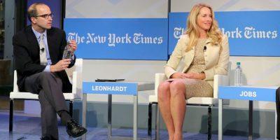 Las mujeres tenían que estar representadas en la lista de Forbes. Ella es Laurene Powell Jobs, cofundadora de Terravera y los servidores de Archieva. Su fortuna es de 19 mil 500 millones de dólares. Foto:Getty Images