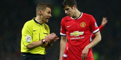 Él es Paddy McNair, también juvenil del Manchester United Foto:Getty Images