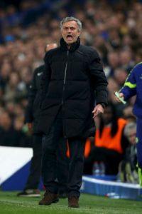 Mou fue eliminado en los octavos de final de la Champions League Foto:Getty Images