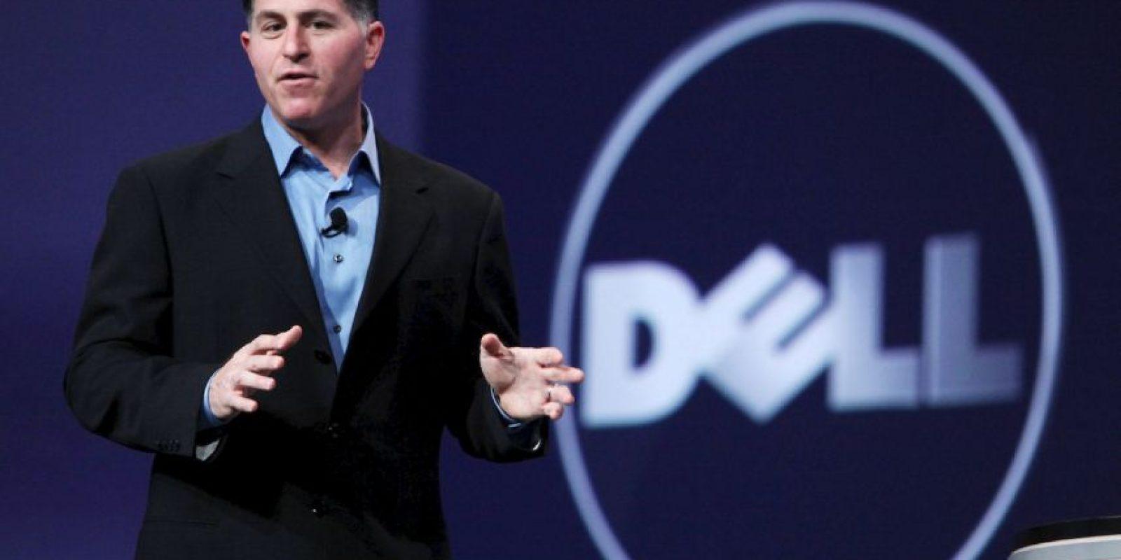 """Michael Dell es el número diez de la lista de Forbes, con la """"módica"""" cantidad de 19 mil 200 millones de dólares. El empresario es el fundador y director de la compañía fabricante de computadoras Dell. Foto:Getty Images"""