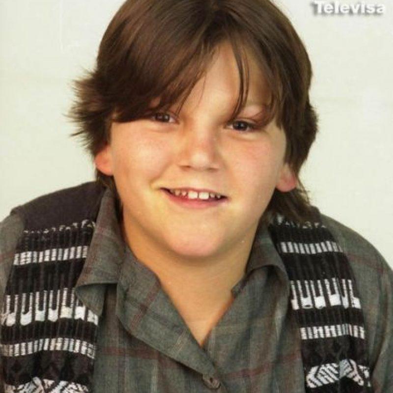 Este es el mexicnao Diego Luna en la infancia Foto:Televisa.com