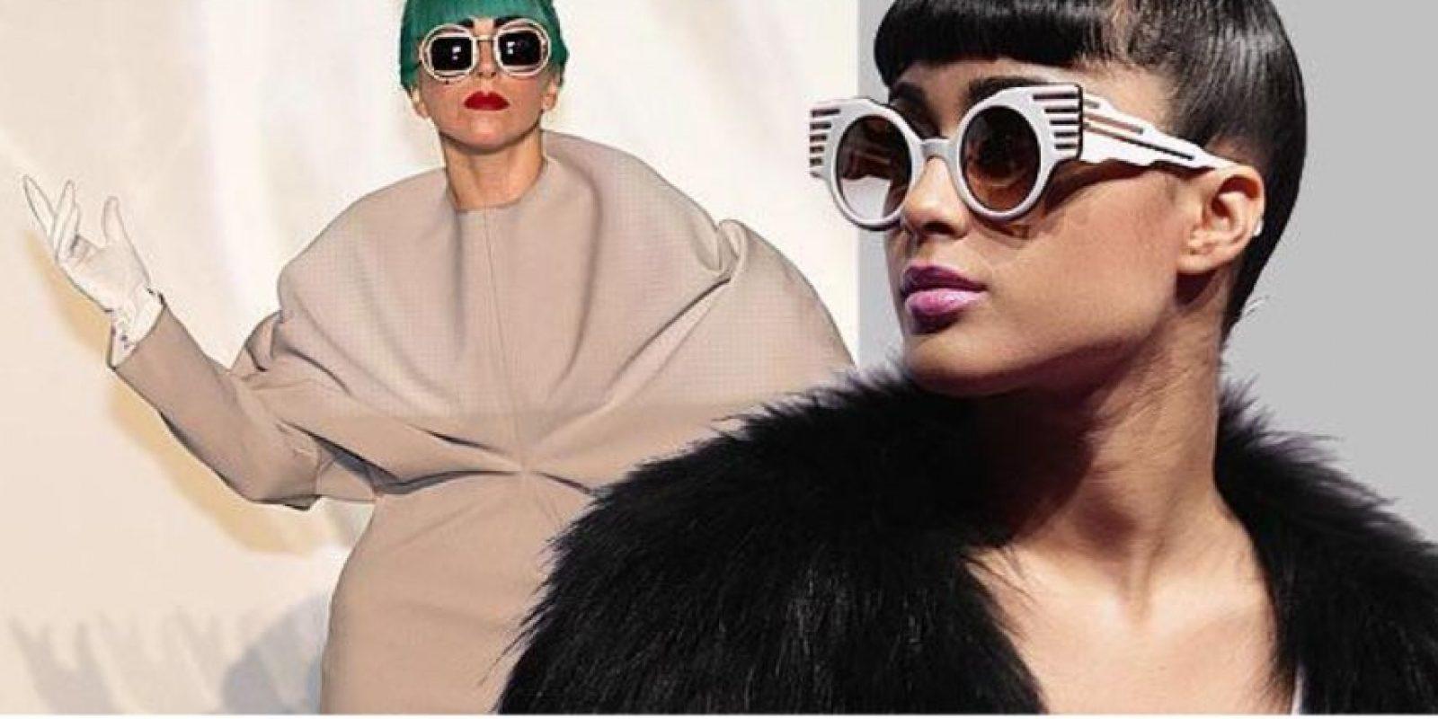 También con Lady Gaga. Foto:Twitter