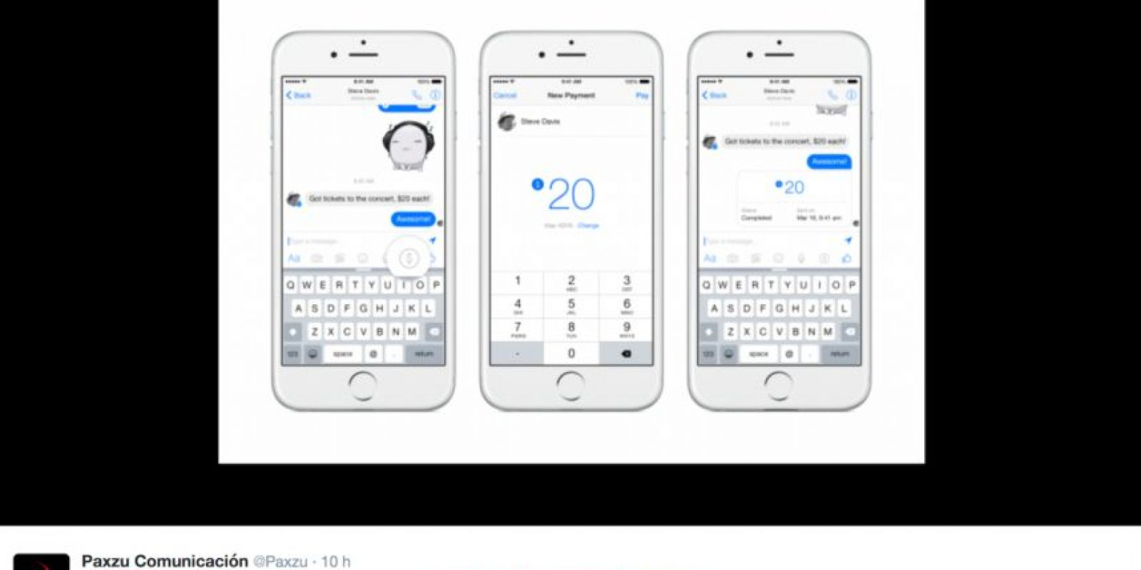 Así lucirá la nueva característica en los smartphones. Foto:Twitter @Paxzu