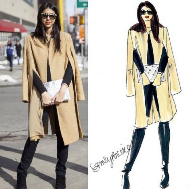 Lo que muchos fashionistas han soñado. Foto:Chic Sketch/Instagram