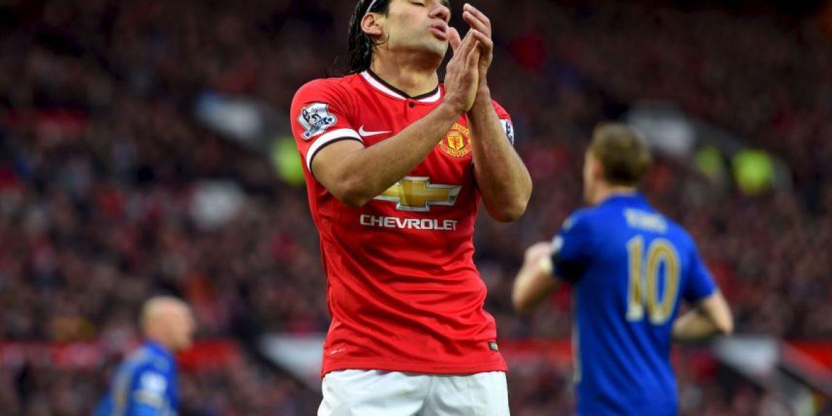 Radamel Falcao llorar por su crisis en Manchester United