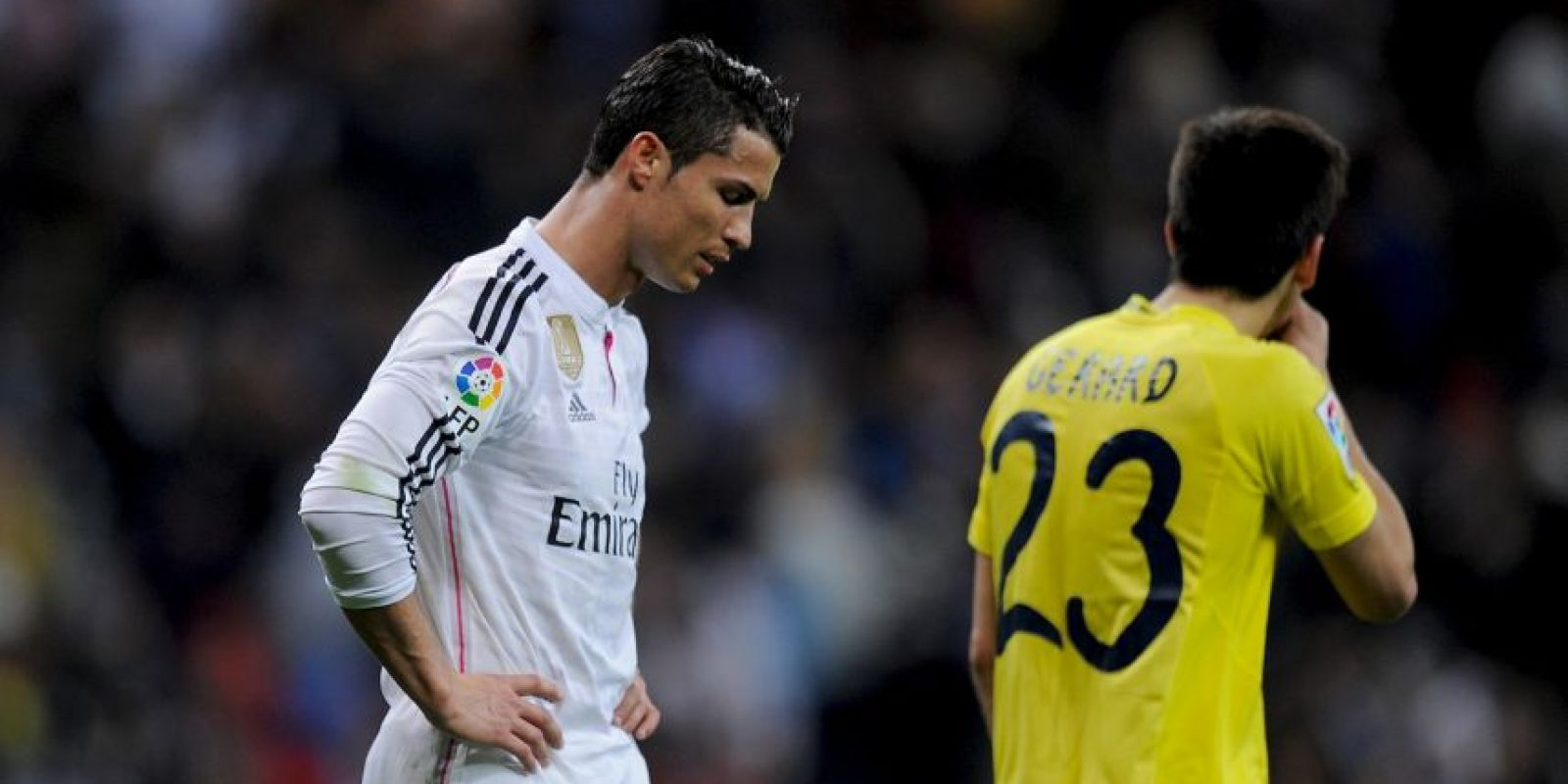 CR7 solo ha marcado cuatro goles en sus últimos cinco partidos Foto:Getty Images