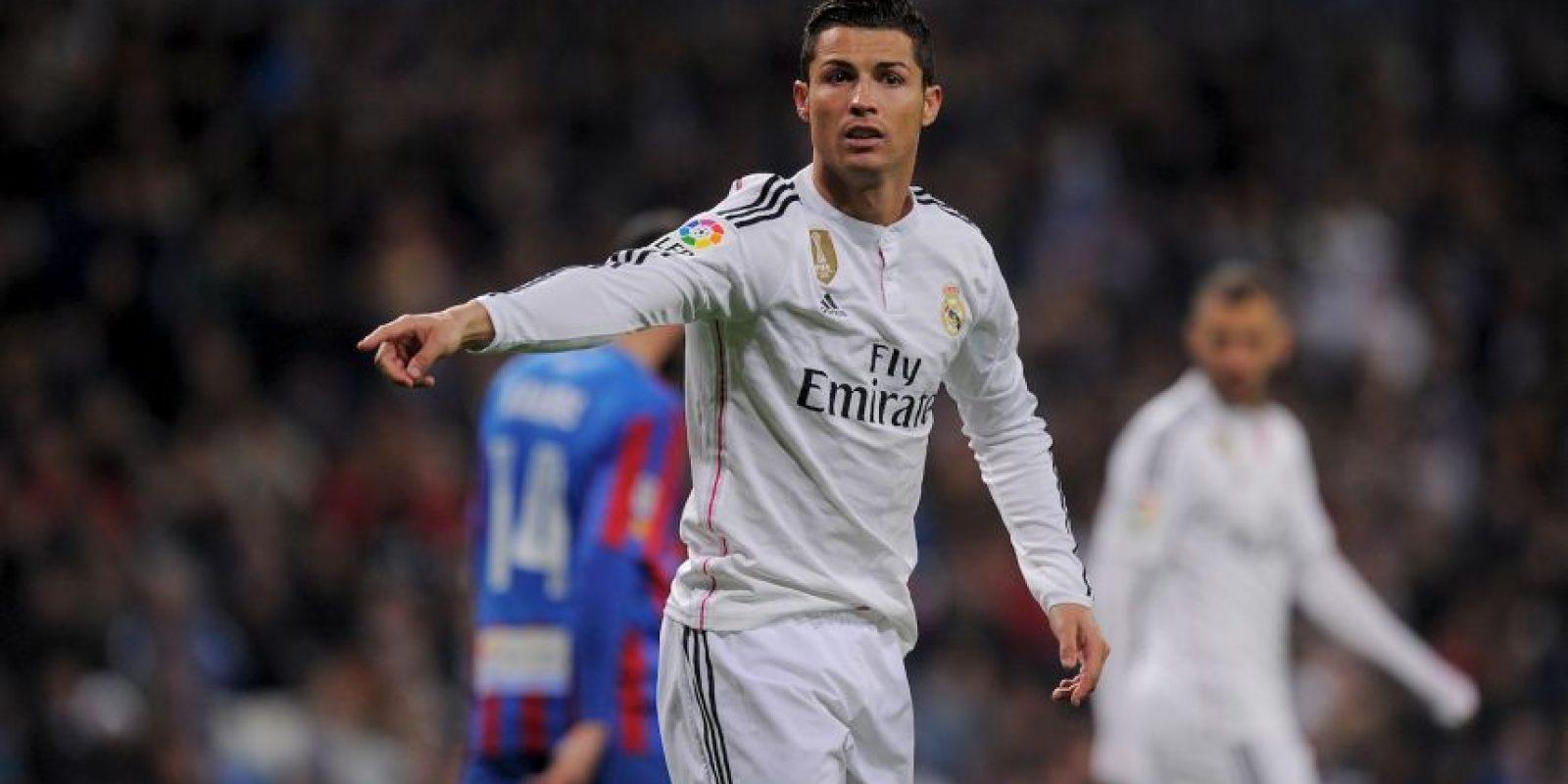 Así sufre CR7 en los partidos cuando no le salen las cosas como él desea Foto:Getty Images