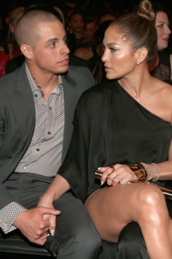 Casper Smart y Jennifer Lopez Foto:Getty Images