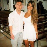 La mujer de Lionel Messi Foto:Instagram: @antoroccuzzo88