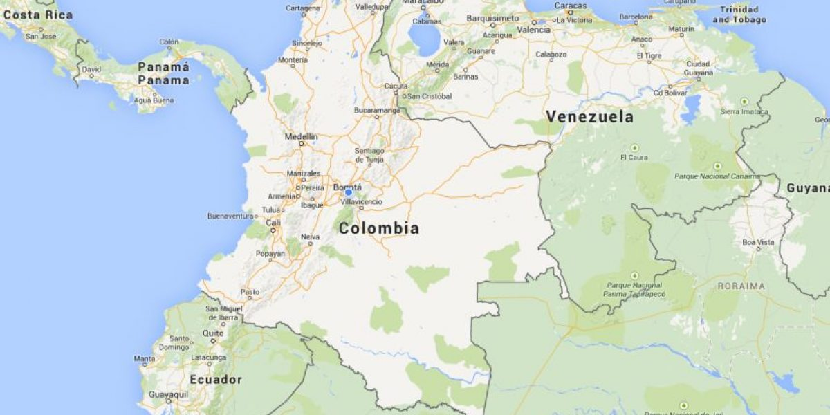 Por qu este mapa de Colombia en Google Maps es tan curioso
