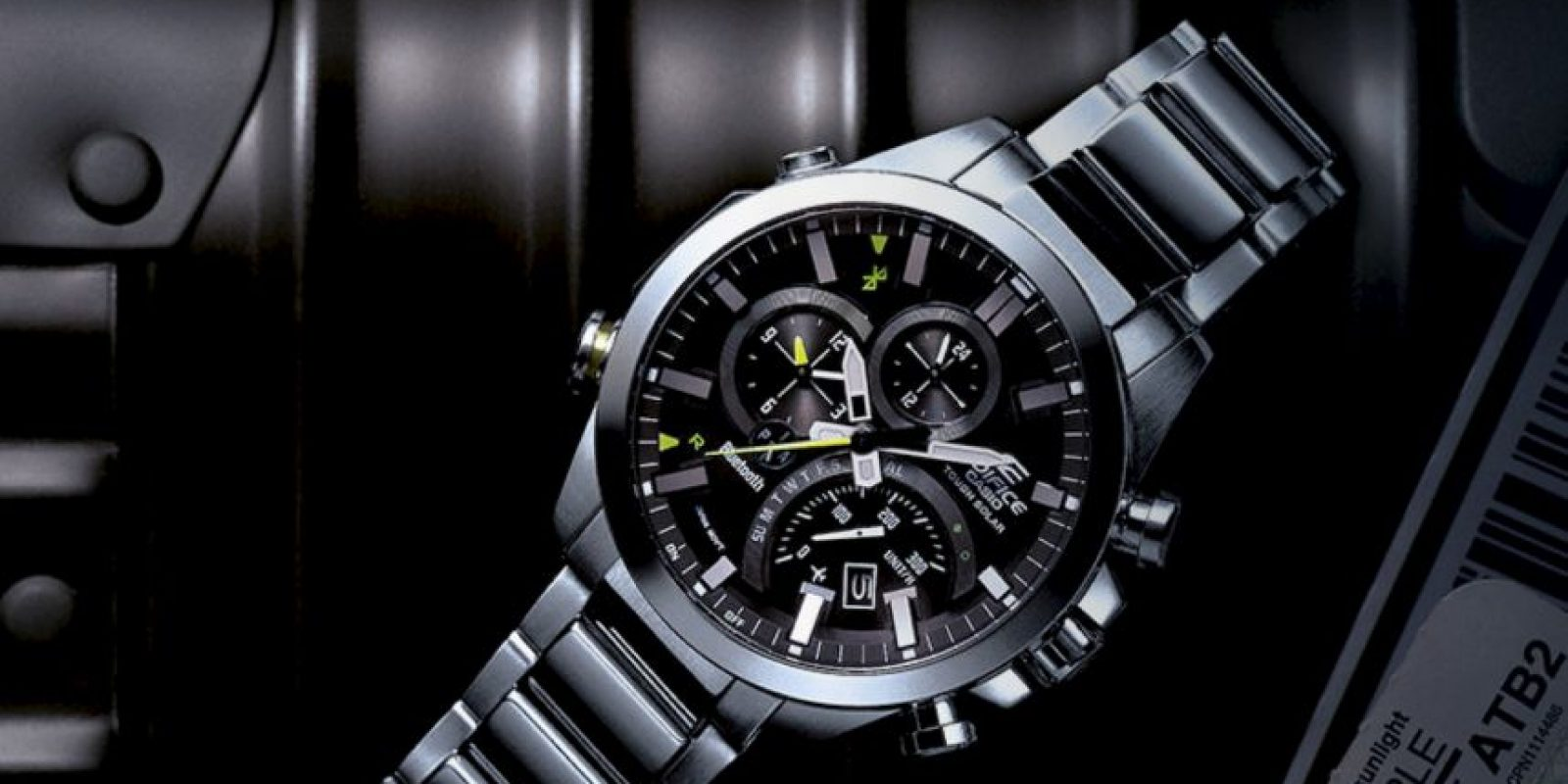Este es el reloj inteligente de Casio. Esta empresa domina el mercado asiático de relojes. Foto:edifice-watches.com