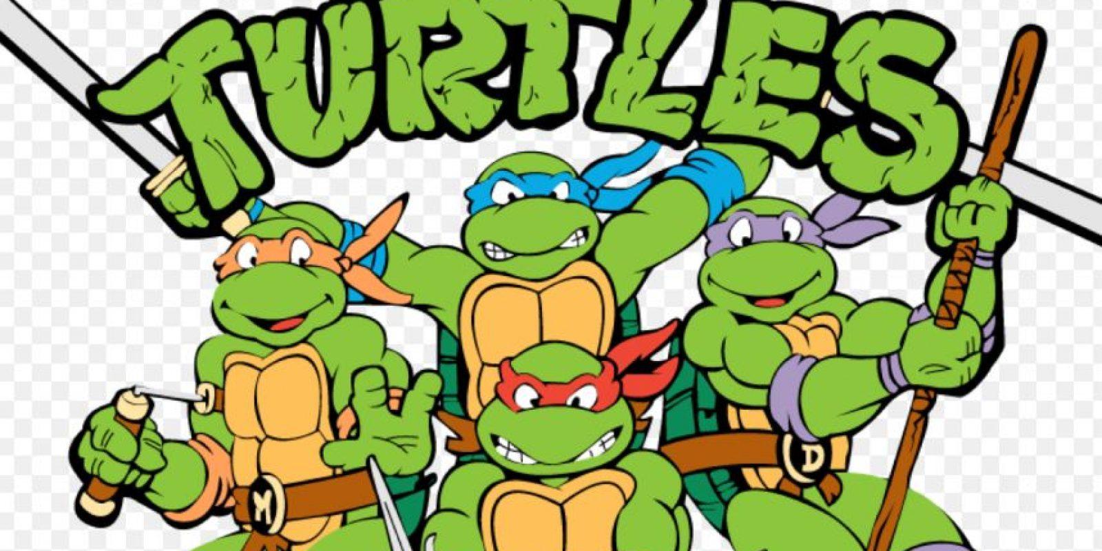 """Las """"Tortugas Ninja"""" no solo fueron un buen programa de televisión de los años 80 y 90 Foto:Mirage"""