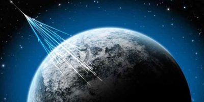 Aunque se pueden detectar en la Tierra, la mayor parte de los rayos cósmicos no nos llegan Foto:Tumblr