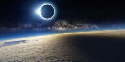 4. Difunden foto falsa de eclipse Foto:Twitter